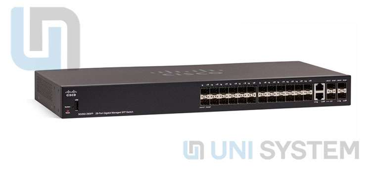 Switch Cisco SG350-28SFP-K9-EU