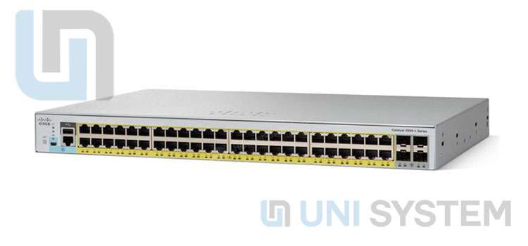 Switch Cisco 2960 48 Port 1Gb