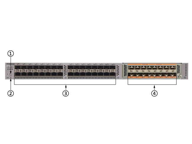 Switch Cisco N5K-C5548UP-FA