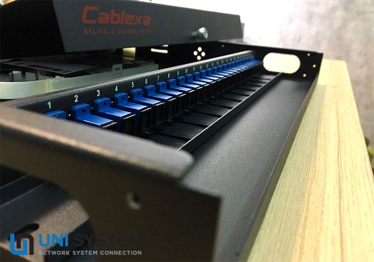 hộp ODF Cablexa đầy đủ phụ kiện