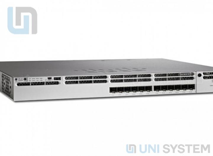 Switch Cisco WS-C3850-12S-E chính hãng