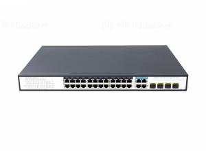 Switch PoE 24 Ports 10/100/1000Mbps Managed PoE