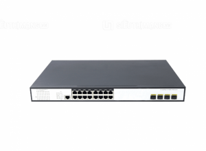 Switch PoE 16 Ports 10/100/1000Mbps 4 10G SFP