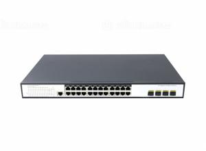 Switch PoE 24 Ports 10/100/1000Mbps 4 10G SFP
