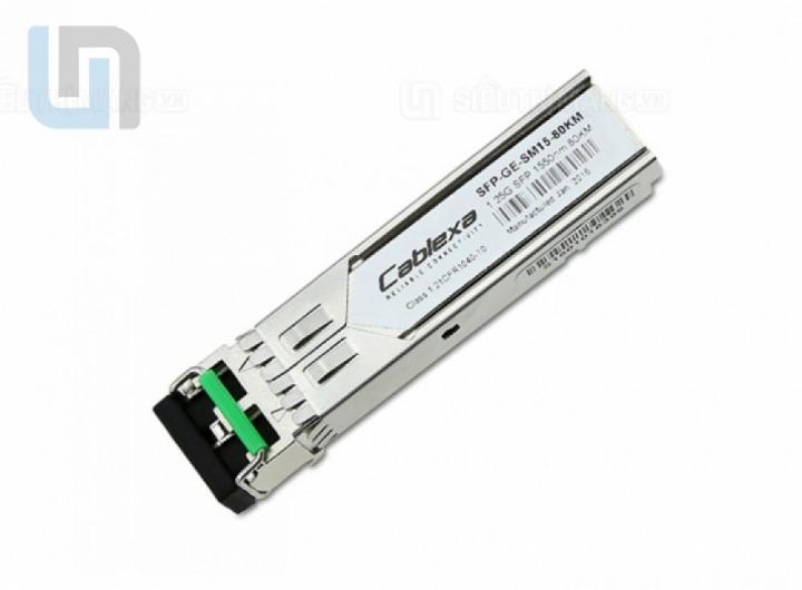 module quang 70km, module quang 2 sợi 1gb, module quang cablexa 1gb, module quang 2 sợi 70km, SFP-GE-SM15-70KM