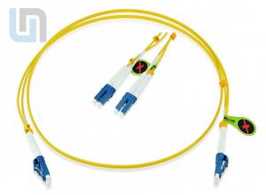 Dây nhảy quang singlemode LC-SC 30M Duplex 9/125 OS2 LSZH