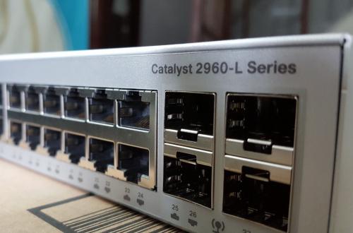 Tìm hiểu về bộ chuyển mạch Switch Cisco 2960-L
