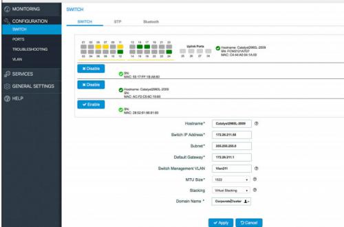 Hướng dẫn cấu hình ngăn xếp ảo với Switch Cisco Catalyst 2960-L