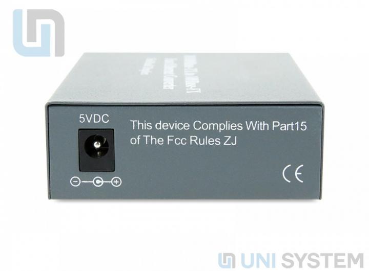 Bộ chuyển đổi quang điện 1 sợi 10/100Mbps hãng Cablexa【Giá tốt】